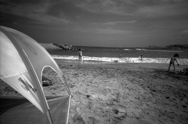 浜辺でIR01e