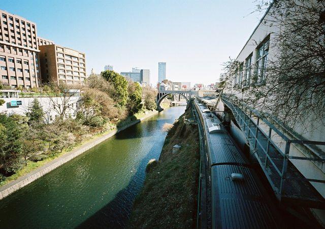 御茶ノ水橋から聖橋・秋葉原