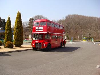 イギリス風2階建てバス