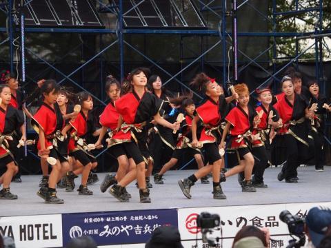 Kuniko's sweet kids ODAWARAえっさホイおどり'11