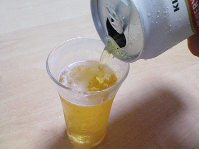 失敗ビール