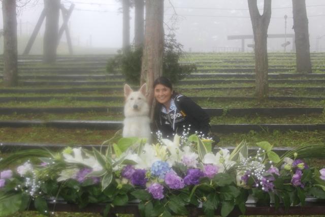 長渕悦子さんとリボン