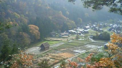 20101113_白川郷展望台より1