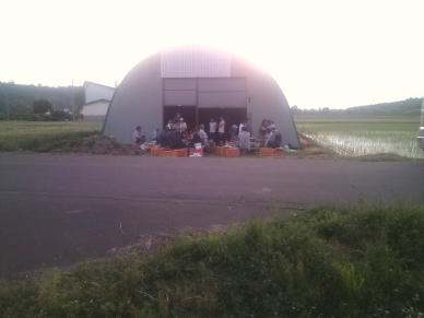 20110619_公区合同焼肉パーティ
