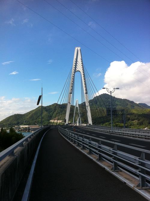 生口橋内部