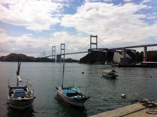 来島海峡大橋全体図
