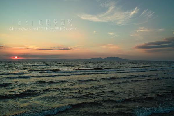 むつ湾と釜臥山2010