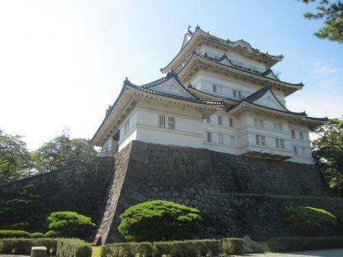 初めての小田原城は熱かった。・・・ほんと暑かった。