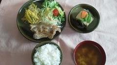 20101217豚の柚子胡椒焼き