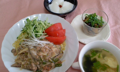 20110806ジャージャー麺