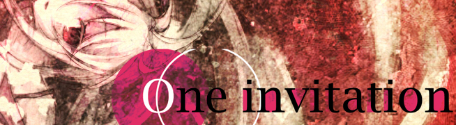 One Invitation バナー
