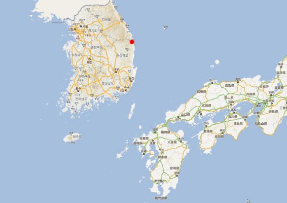 韓国原発事故