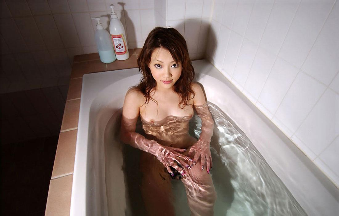 お風呂に入っている女の子 画像 41