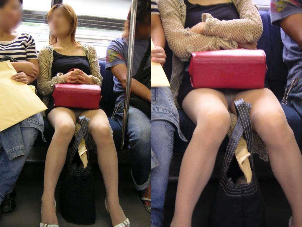 電車内パンチラ 画像 25