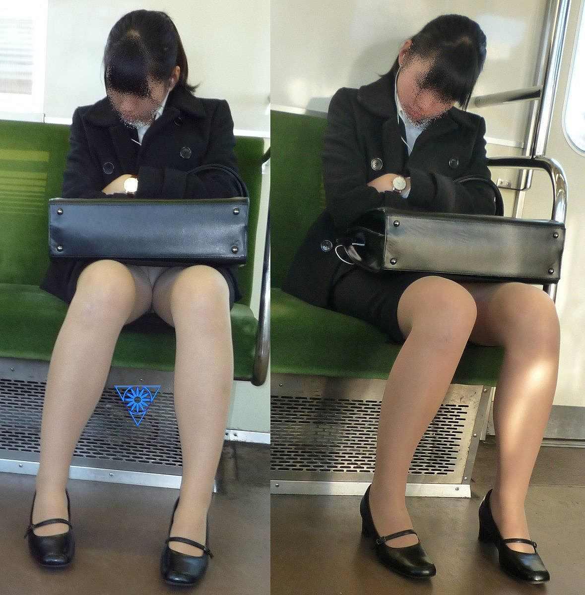 電車内パンチラ 画像 48