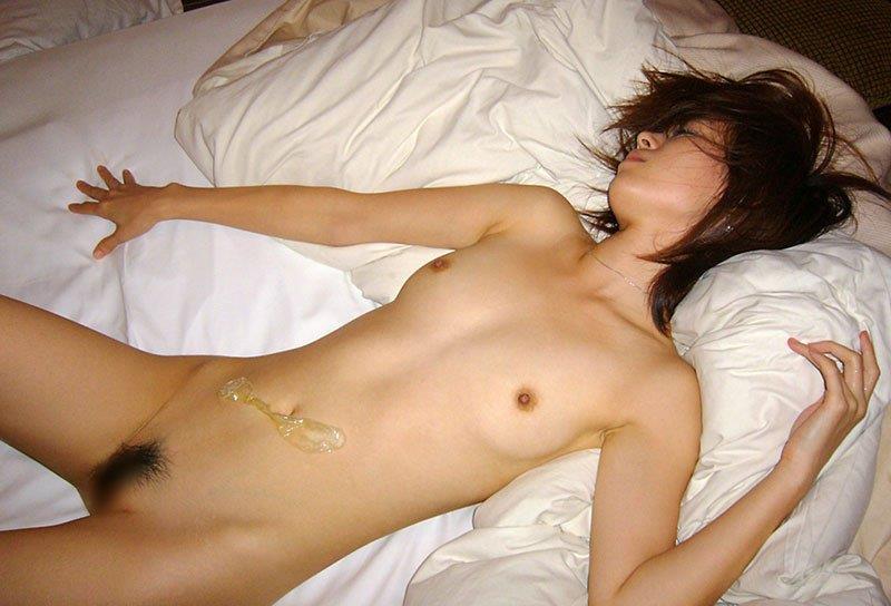 セックス後の素人女性 画像 33