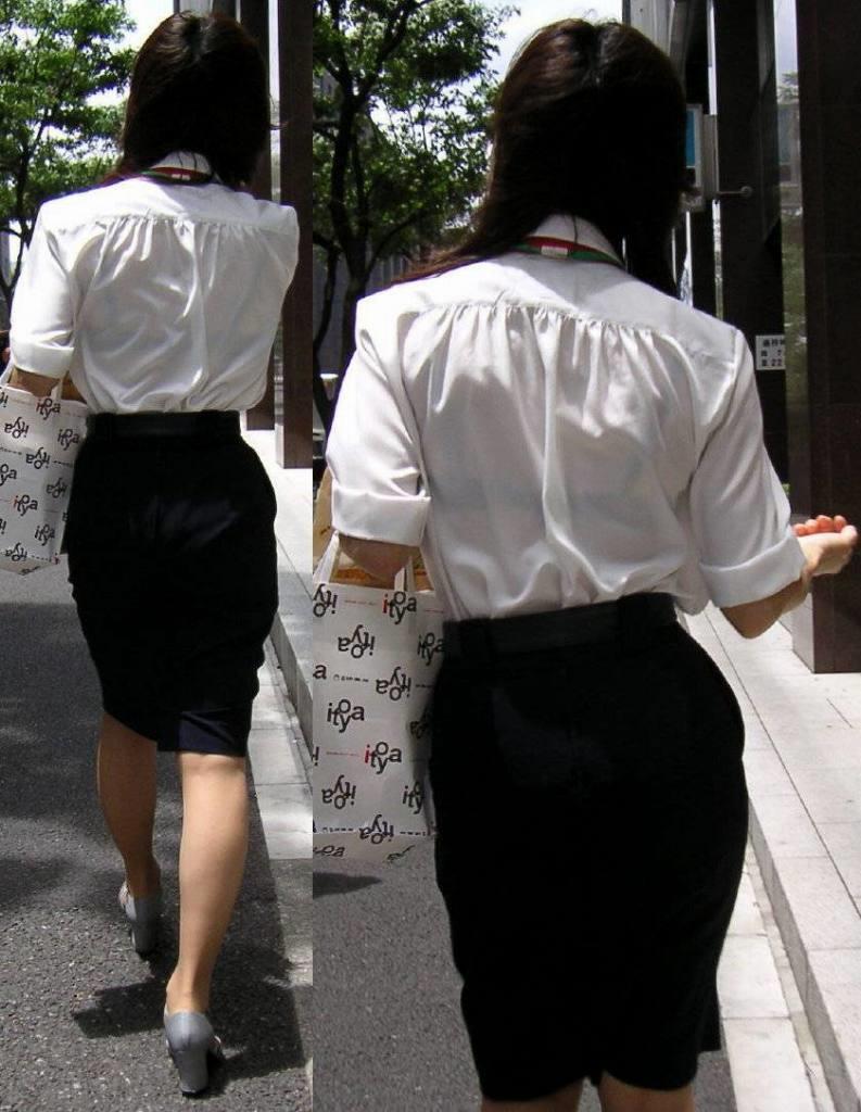 透け透け盗撮エロ 透けブラ 画像 3