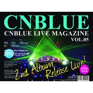 CNBLUE LIVE MAGAZINE Vol5