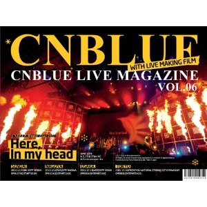 CNBLUE LIVE MAGAZINE Vol6