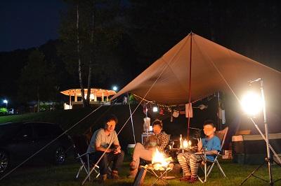 20140809かなやま湖オートキャンプ場
