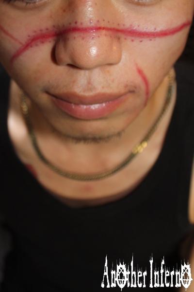 名古屋 タトゥー リアリスティック 顔 傷跡