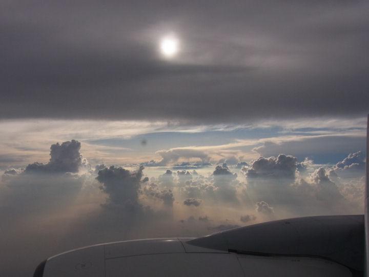 飛行機からの雲-R0019347