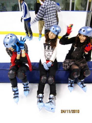 溜冰好開心