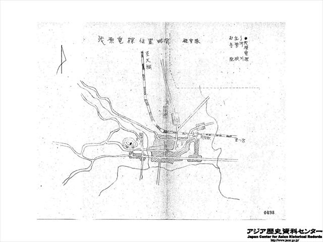茂原電探位置略図_R