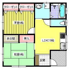 平屋15坪