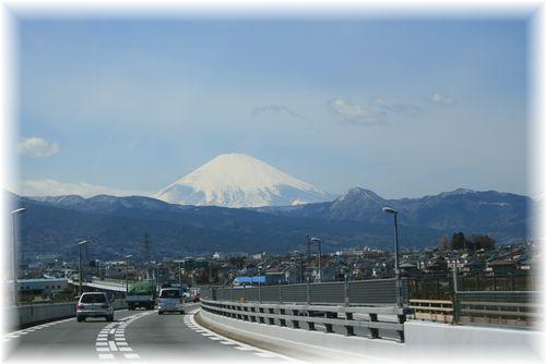 富士山くっきり!