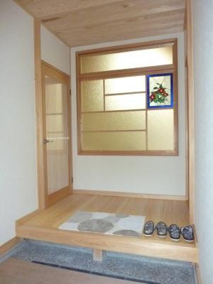 武藤邸玄関写真1