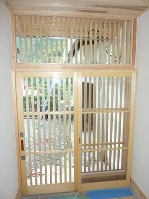 武藤邸玄関3