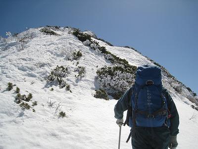斜里岳玉石コース(H=1350m)