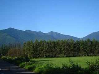 芽室岳遠景