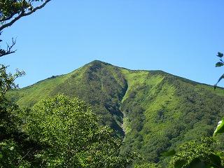 芽室岳西峰(H=1000Mより)
