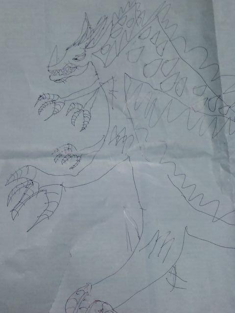 息子のデザイン画
