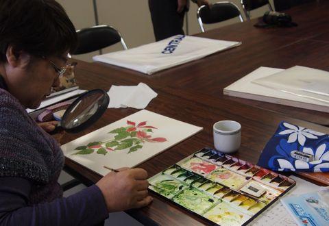 植物画教室