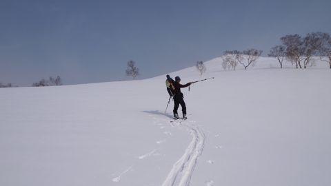 白樺山へ2