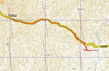 GPSマップ_下蒜山201204