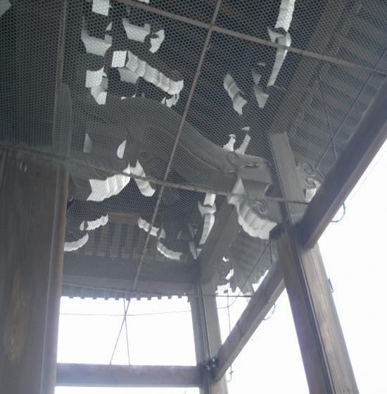 西本願寺阿弥陀堂軒支柱2