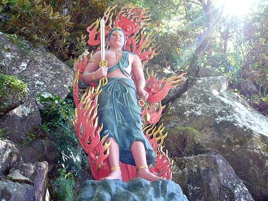 神峯寺のお不動さん