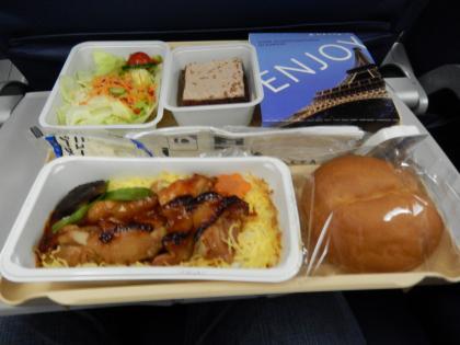 バンコク2013.5DL283便機内食