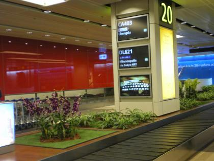 シンガポール2013.3チャンギバゲージクレーム