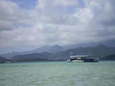 ハワイ2012.7サンドバーポンツーン