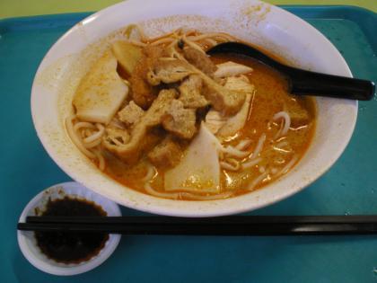 シンガポール2013.3ホーカーズカレー麺
