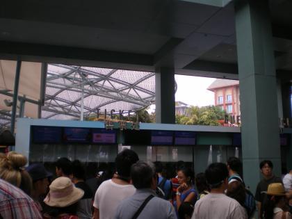 シンガポール2013.3マリタイムミュージアム入場券売場