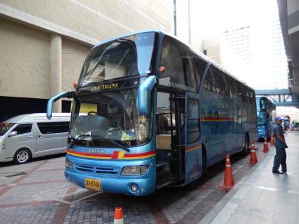 バンコク2013.5市内観光利用時バス