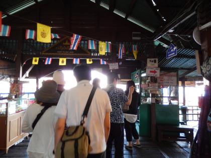 バンコク2013.5暁の寺渡し船乗場