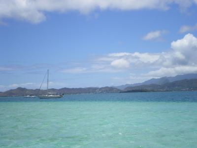 ハワイ2012.7サンドバー海面①
