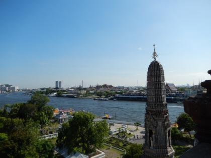 バンコク2013.5暁の寺大仏塔塔上からの眺め2